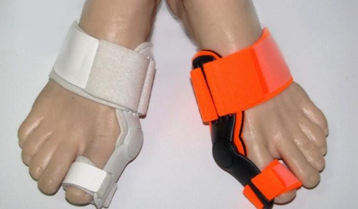 Вальгусная шина от косточки на ноге