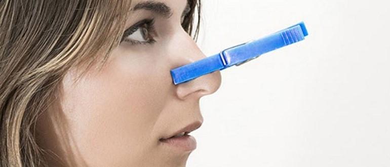 Что делать если заложен нос