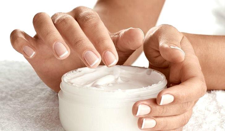 Домашний крем для укрепления ногтей