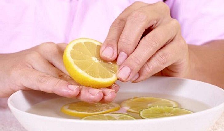 Маски с лимоном для укрепления ногтей