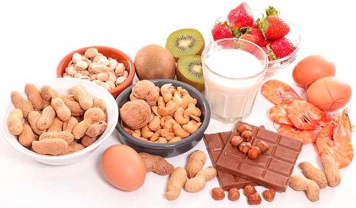 Причины - пищевые аллергены