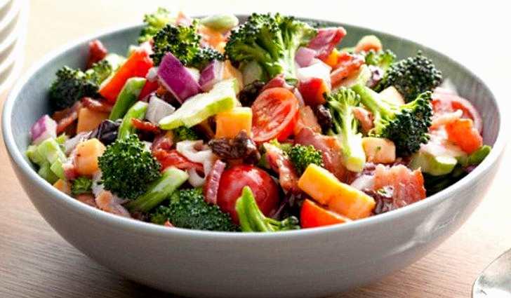 Рецепт зеленого салата для повышения гемоглобина
