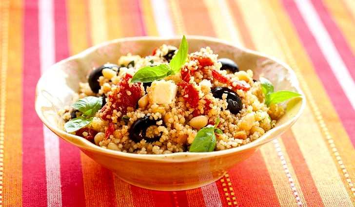 Здоровый вегетарианский рецепт