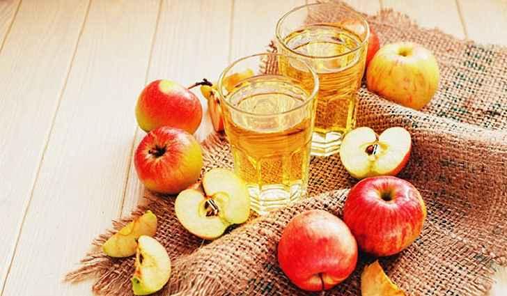 Яблочный уксус от простуды