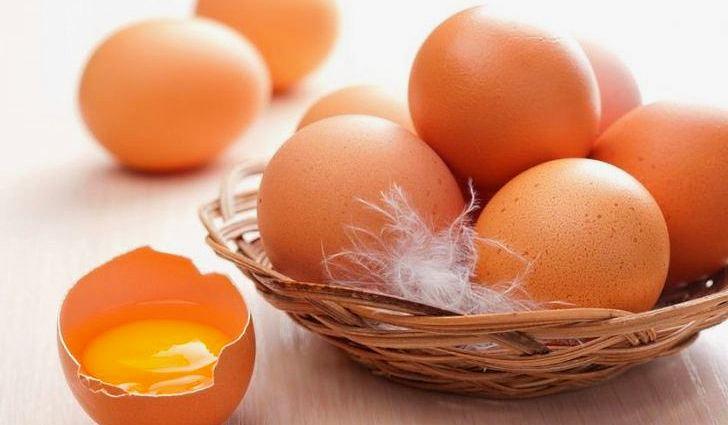 Яйца богаты белками