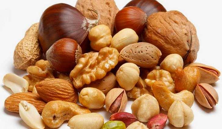 Орехи, семена и бобовые