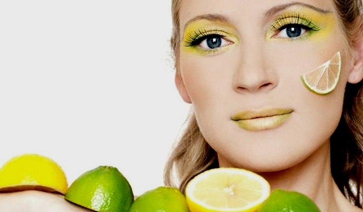 Лимоны поддерживают здоровый цвета лица