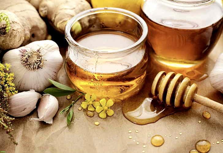 Мед и чеснок - рецепт от лишая