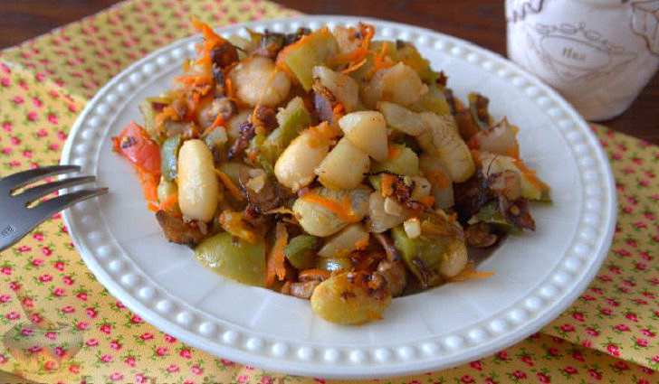 Рецепт выпечки топинамбура с грибами