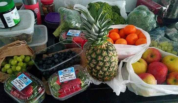 Содержание кальция в образцовых пищевых продуктах