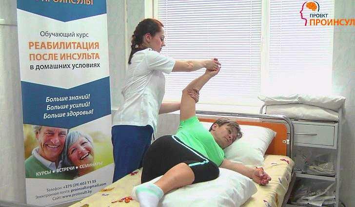 Гимнастика для реабилитации последствий инсульта