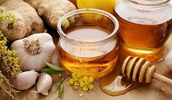 Народный рецепт мёда с чесноком