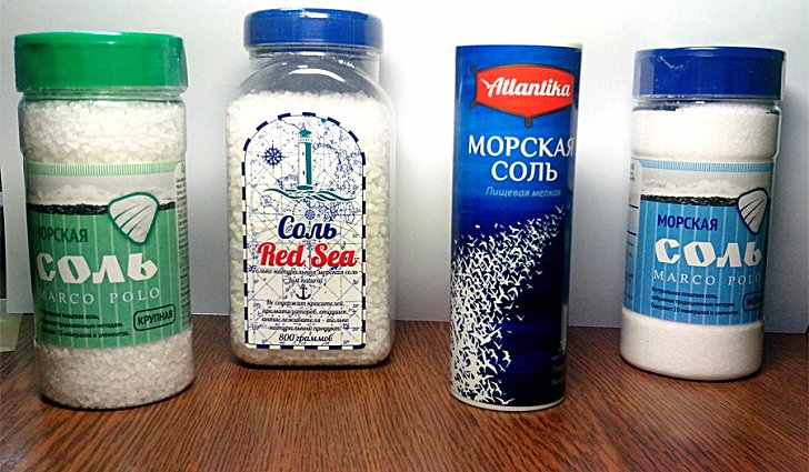 Полоскания морской солью