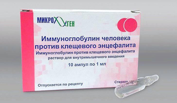 Лечение последствий клещевого энцефалита
