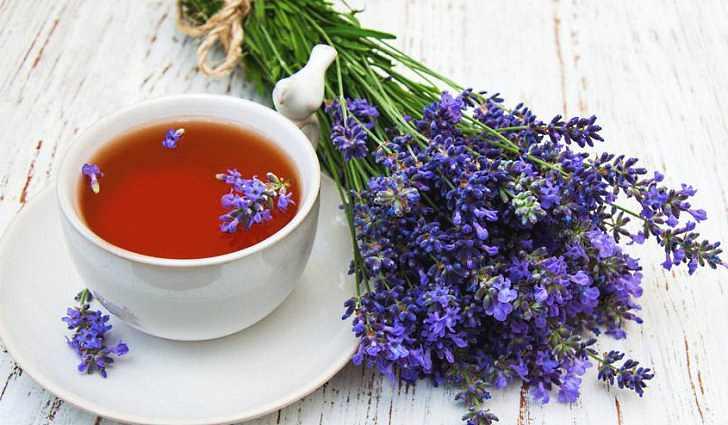 Успокаивающий чай с лавандой