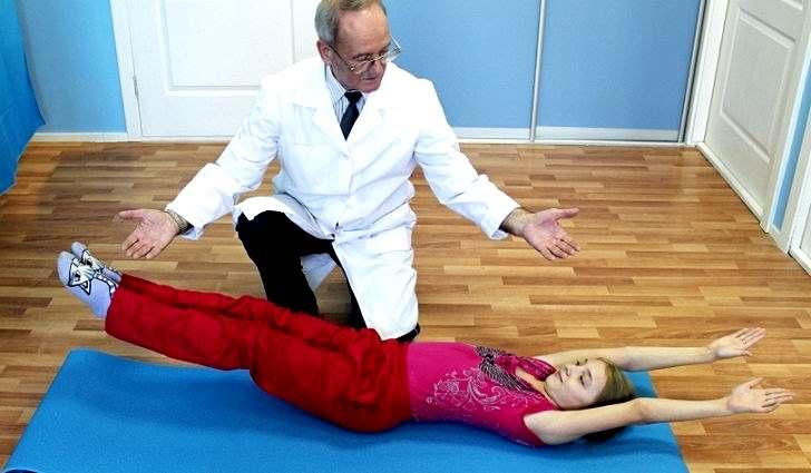 Оздоровление позвоночника - лечебная гимнастика