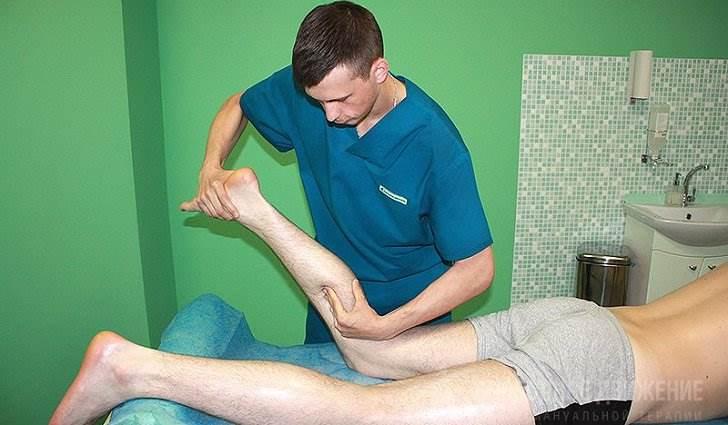 Техника проведения массажа мышцы