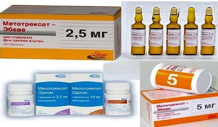 Лечение ревматоидного артрита, препараты