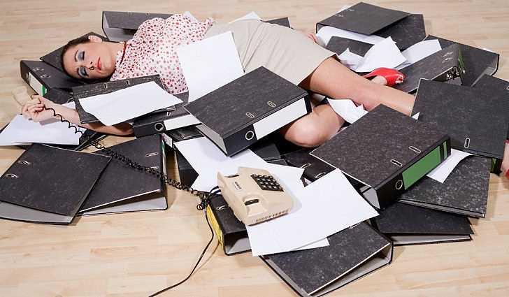Признаки физической усталости
