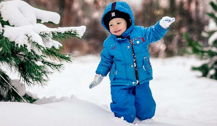 Режим пребывания детей на морозе