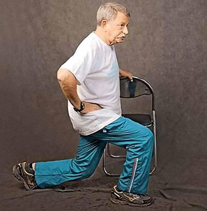 Упражнения лежа и сидя