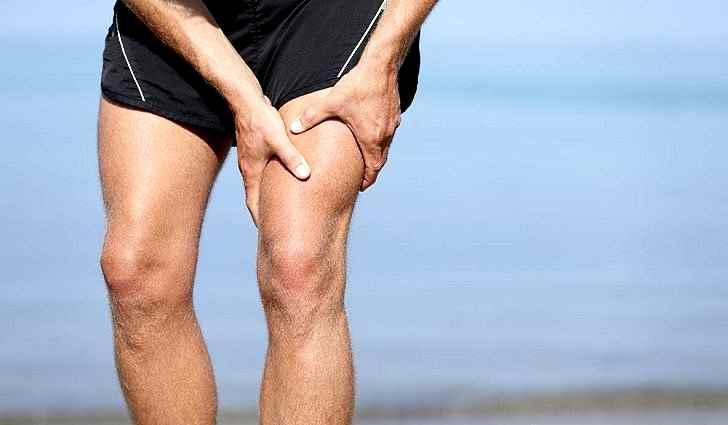Воспаление мышц бедра
