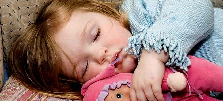 Как укладывать спать ребенка