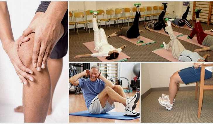 Лечебная гимнастика при реактивном артрите