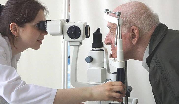 Симптомы корковой слепоты