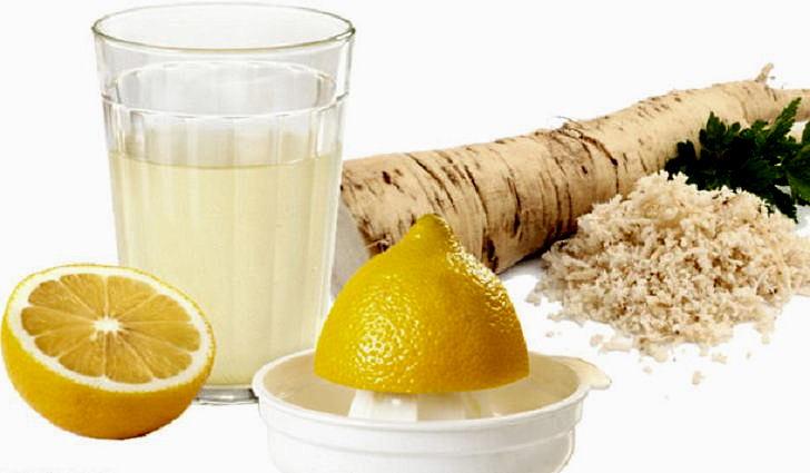 Рецепт лечения бронхов - лимон с хреном