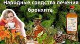 Народные средства лечения бронхита