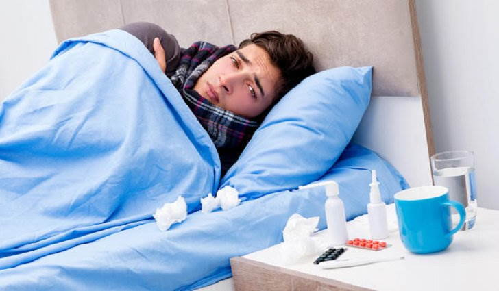 Простуда сопровождается миалгией