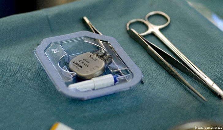 Подготовка к установке кардиостимулятора