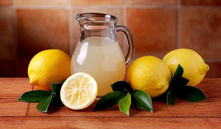 Отвар лимонной кожуры