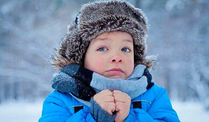 Симптомы переохлаждения у детей