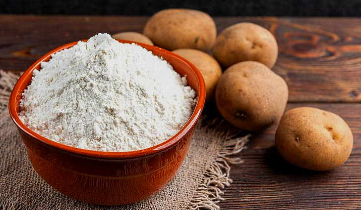 Картофельный крахмал применяется в народной медицине