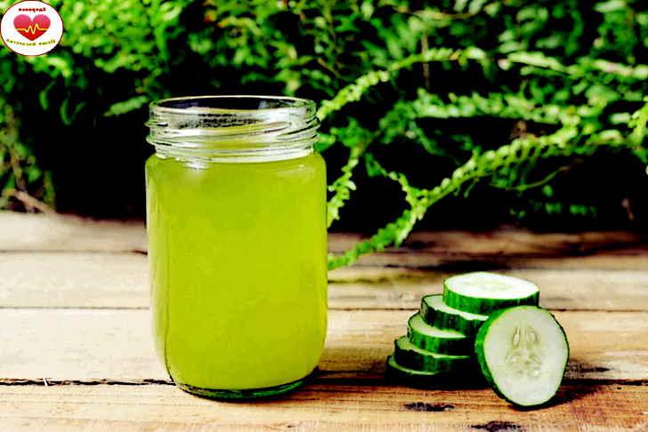 Средство от мигрени - огуречный сок